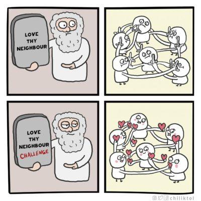 Commandment upgrade