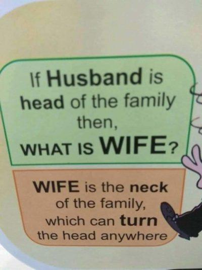 Get it? Lol funny manipulative partner