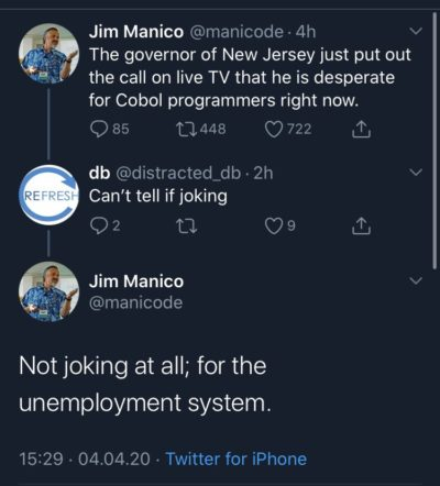 The reports of COBOL's death are greatly exaggerated