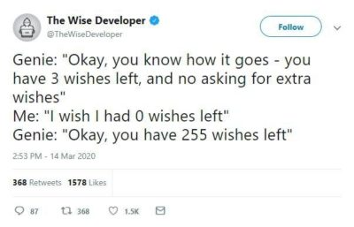 How many wishes Genie?