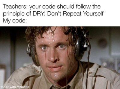 Sweaty code