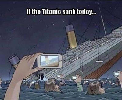 If Titanic sank today
