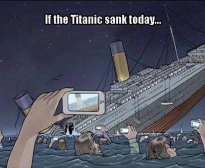 If Titanic sank today