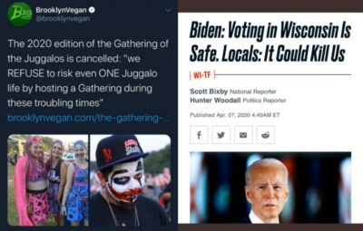 "When the Juggalos are more ""presidential"" than a candidate."