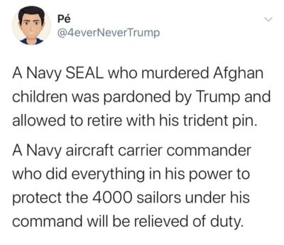 how does anybody in the military still support this POS