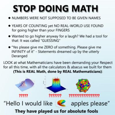 math is STUPID