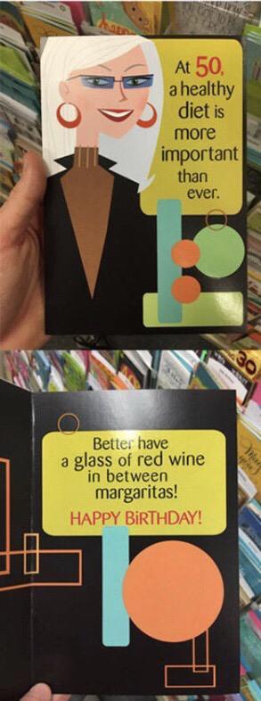Karen's an alcoholic.