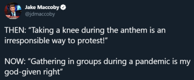 Protest behavior