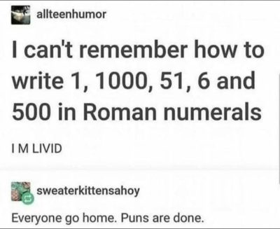 We are gathered here today to mourn the loss of puns.