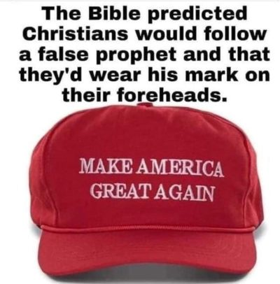 But the Bible says.