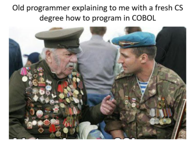 How to program in COBOL