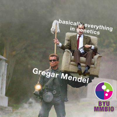 Gregar Mendel is the true OG