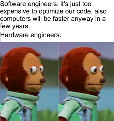 Studying to become a hardware engineer, also worked as a programmer