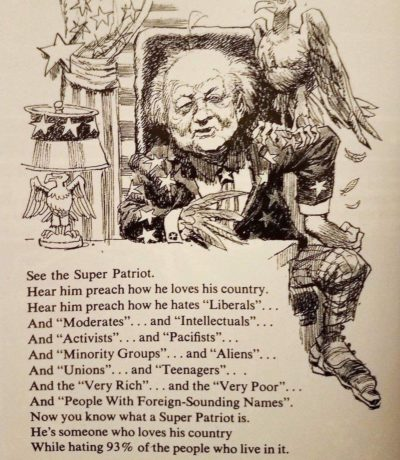 "1968 Mad Magazine cartoon on ""Patriots"""