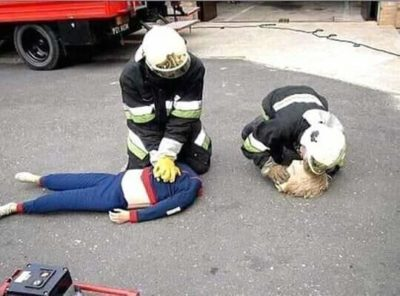 Me and my friend trying to save our programming project