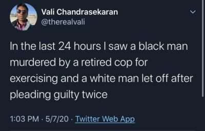 White justice vs Black justice