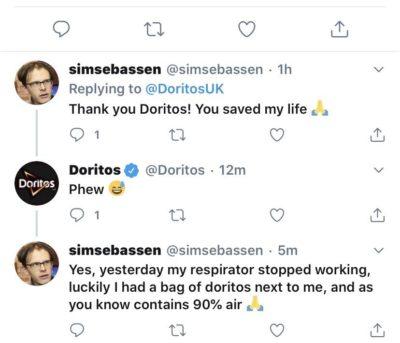Get rekt Doritos