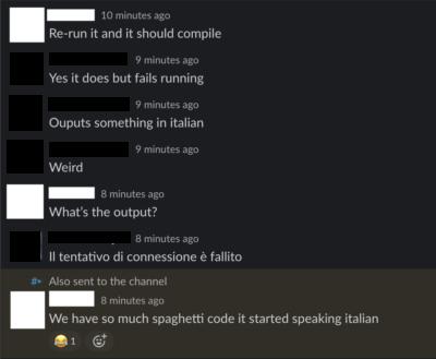 Do you even spaghet?
