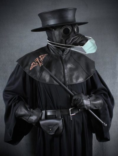 Modern day plague doctors