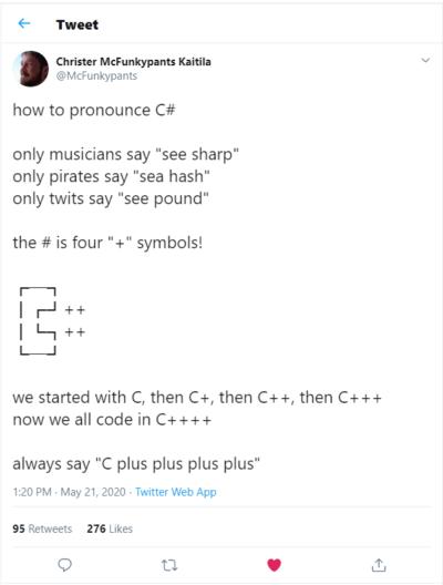 It's C++++ guys