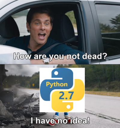 Python3 Has Been Out for 12 Years – It's About Time