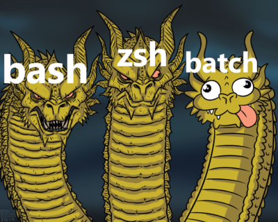 i had to work with batch a few days ago and it almost killed me