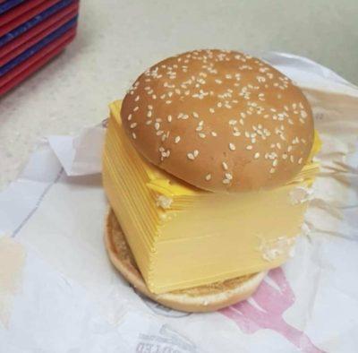 The original cheeseburger.