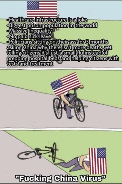 """""""Fucking China virus"""""""