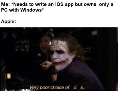 Because FU, Apple