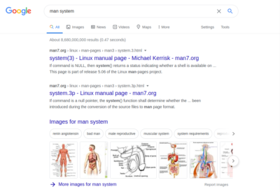 When google is not quite sure what you're looking for and neither are you