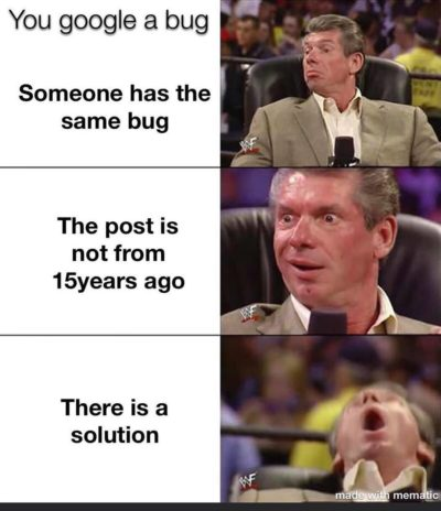 I write bugs only
