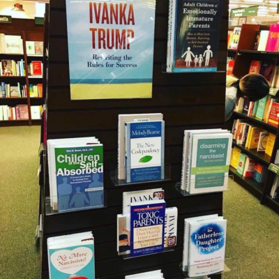 This bookstore display