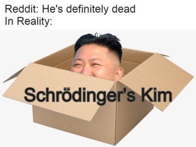 Is he?