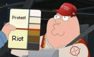 Current Protest guidelines for Cops