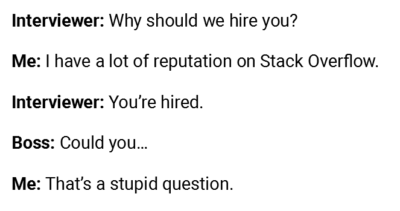 Hiring a Stack Overflow pro.