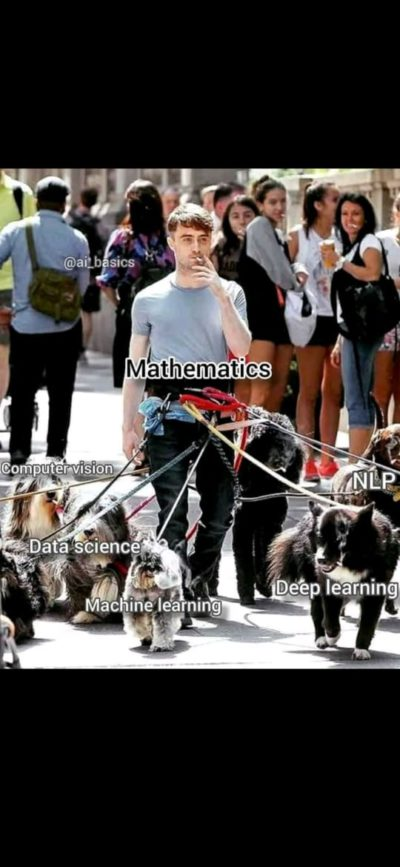 Mathematics is ❤️