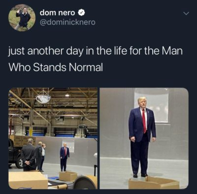 The Man Who Stands Normal