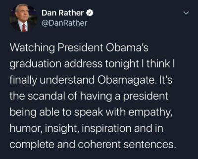 Dan Rather is brutal AF!