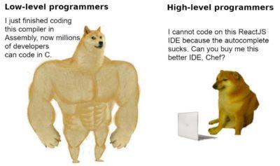 Low-level vs High-level