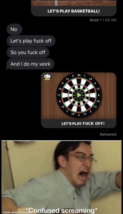 don't ruin my boy filthy frank like that. found on r/memes