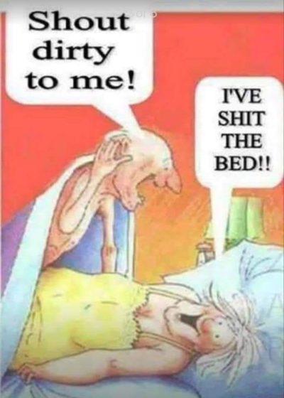 disgusting boomer humor