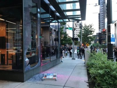 Amazon Go store automatically bills protesters for looted merchandise
