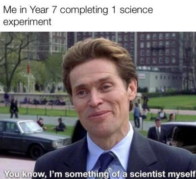 Im something if a scientist myself…
