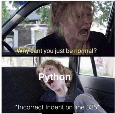 Why you do this python?!