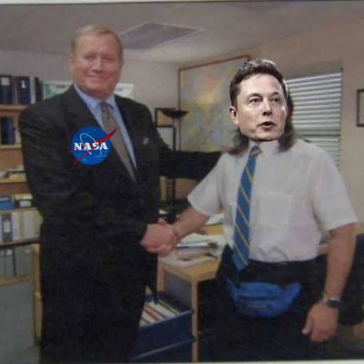 22nd time for NASA, 1st time for Elon..