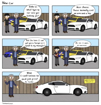New Car – TomMakesComics