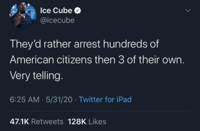 Ice Cube with the cold truth