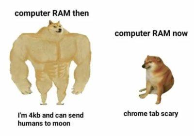 Big ram big scary