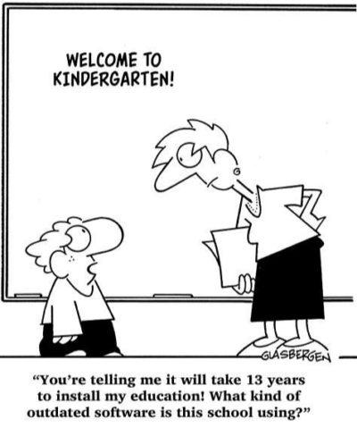 Classic kindergarten kids