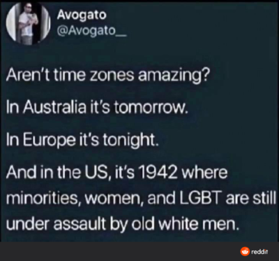 Aren't time zones amazing?